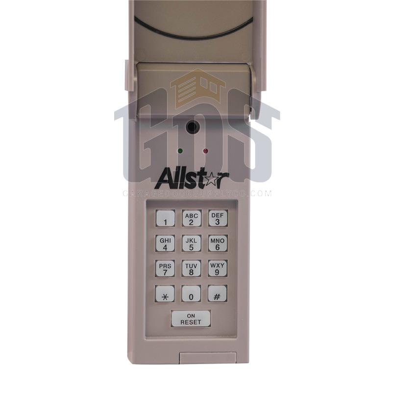 104078 allstar 318mhz wireless keypad. Black Bedroom Furniture Sets. Home Design Ideas