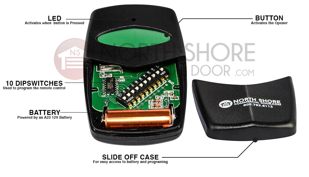 Stinger Stanley 1050 310mcd21v Stanley Compatible Remote