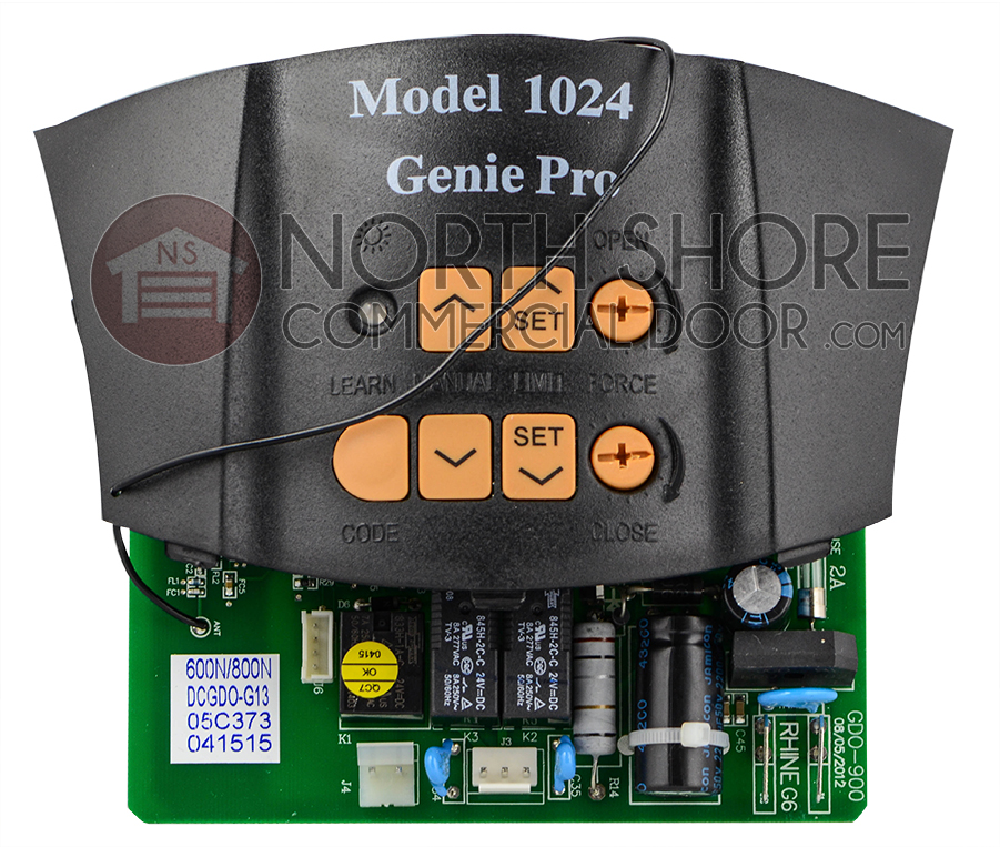 Genie 37028e 36448a Garage Door Opener Circuit Board