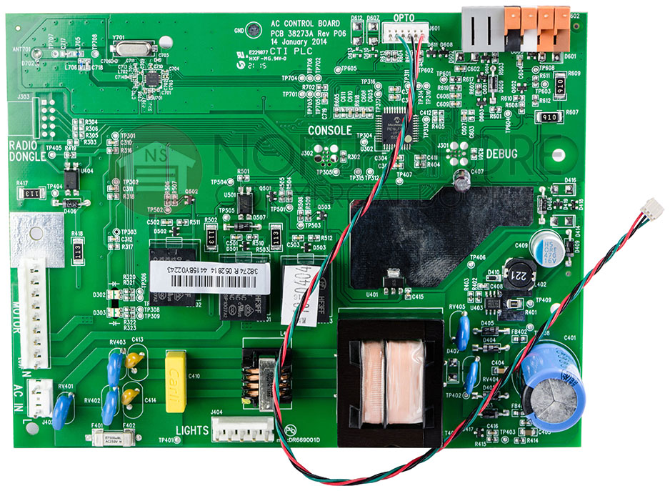 Genie 37160r S Circuit Board Assembly For Powerlift 900