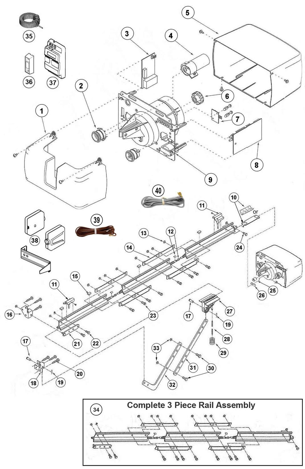 Genie Ac Screw Drive Model Parts