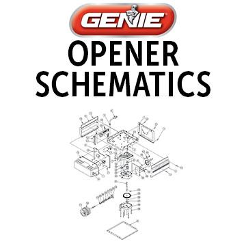 Genie Garage Door Openers Opener Parts Accessories