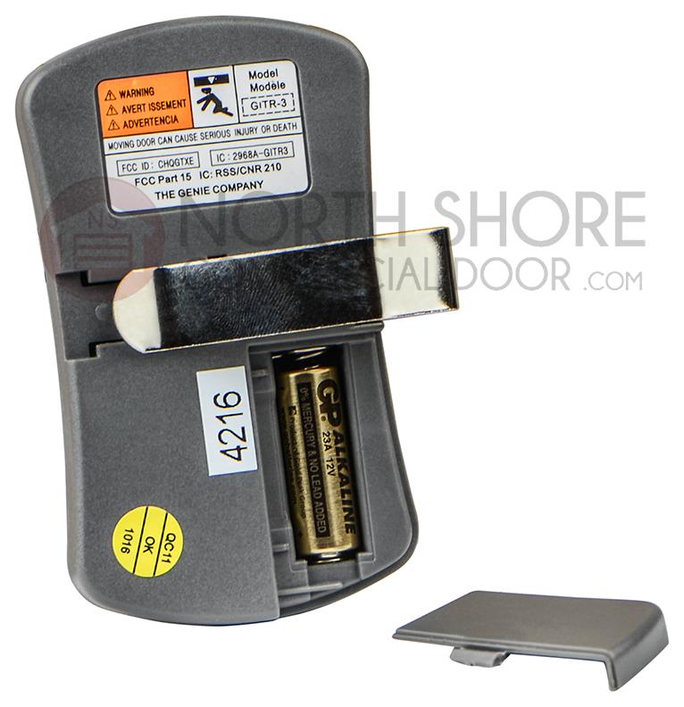 Overhead Door Ocdtr 3 3 Button Code Dodger Remote