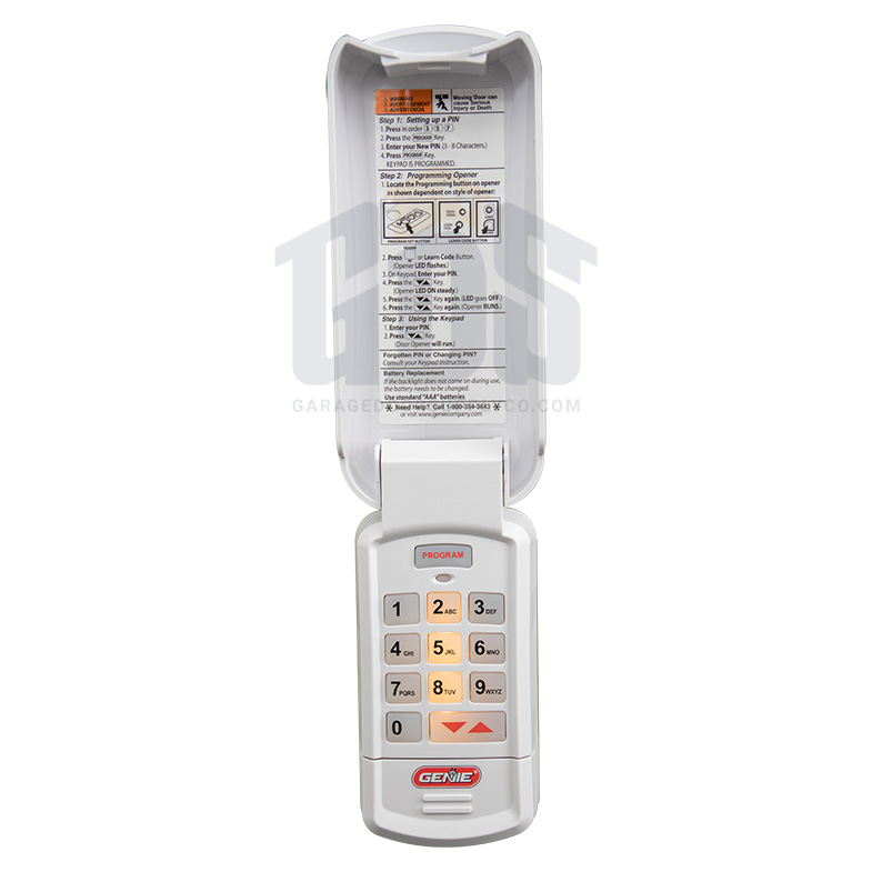 Overhead Door Okp Wireless Keypad Intellicode Code Dodger