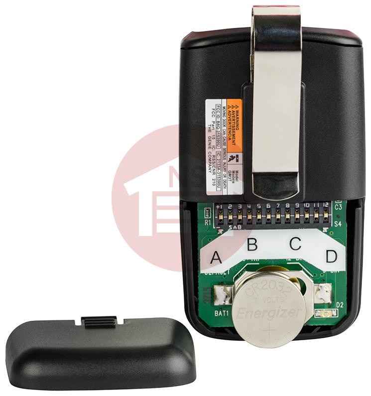 Genie Gm3t Bx 3 Button Genie Master Remote