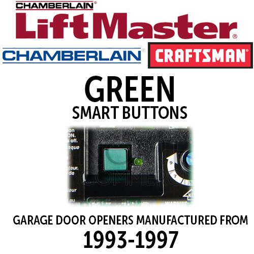 LiftMaster Billion Code - Green Smart Button Remotes