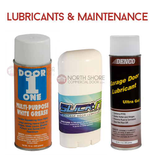 Garage Door Lubricants