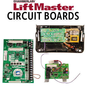 LiftMaster Circuit Board Icon liftmaster garage door opener repair parts  at n-0.co