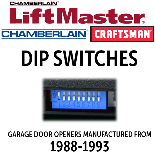 LiftMaster - Older - DIP Switch Remotes