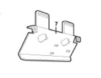 Liftmaster 12d630 Front Bracket For Light Sockets And Limit Switch Assembly
