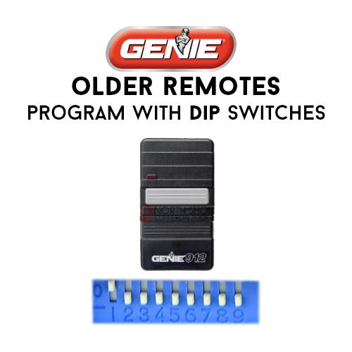 Genie Garage Door Opener Remotes