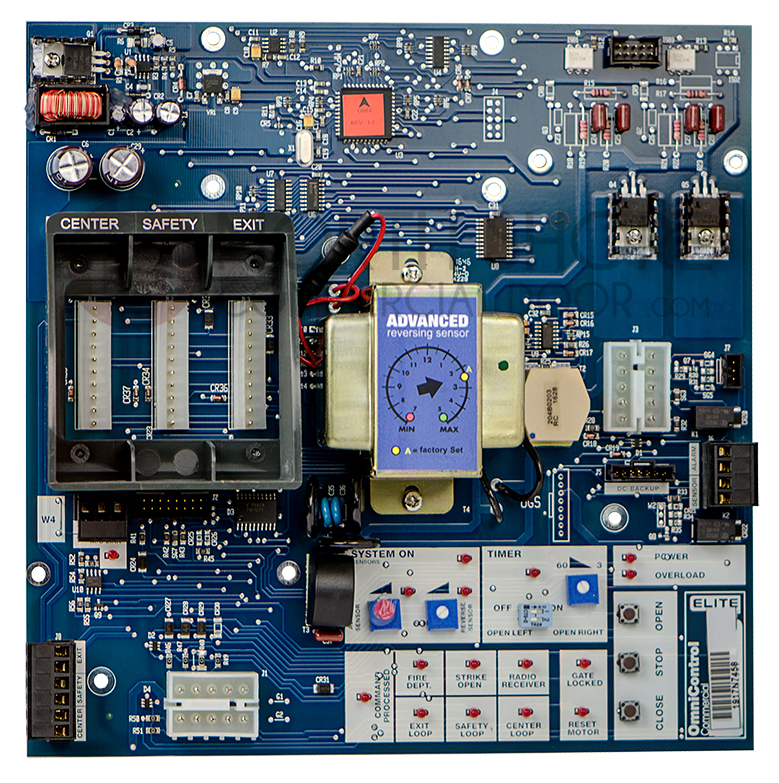 LiftMaster Q400D Omni Main Control Board Circuit Board for – Lift Master Nsor Wiring Schematic