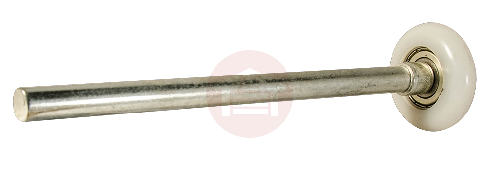 2 Hd Nylon 13 Ball Bearing Rollers 7 Quot Stem 10 Pack