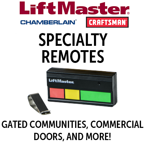 LiftMaster Specialty Remotes for Commercial Doors or Gate Openers & More