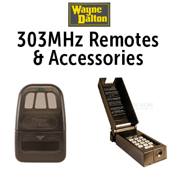 Wayne Dalton303MHz Remotes wayne dalton garage door remotes & keypads wayne dalton 3018 wiring diagram at soozxer.org