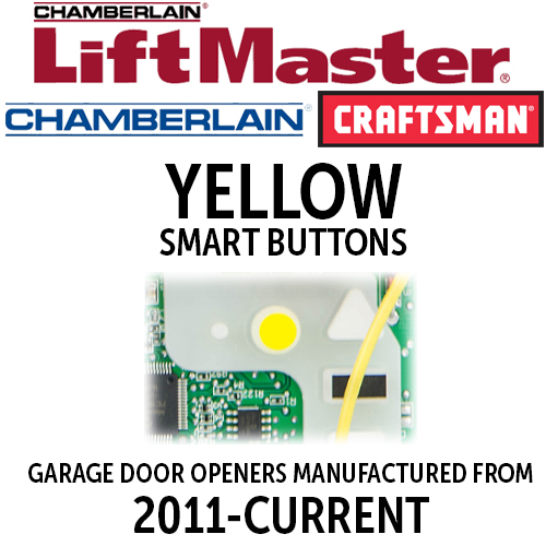 LiftMaster MyQ-Yellow Smart Button Remotes