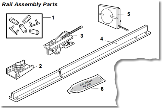 LiftMaster 1346, 1356 Garage Door Opener Parts