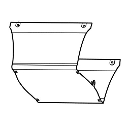 LiftMaster 041D8140 Motor Cover Model 8155