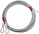 406 1-Pair of Cables for 7' Extension Spring Garage Door