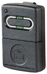 North Shore Commercial Door NSCD-433RC1 Rolling Code Transmitter