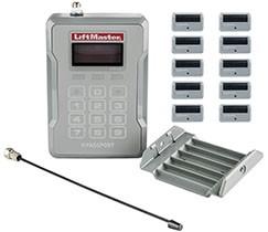LiftMaster Passport 2.0 Starter Kit. (PPWR Receiver & 10 Passport Remotes)