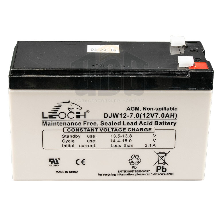 LiftMaster 29-NP712 Replacement Gate Opener Battery