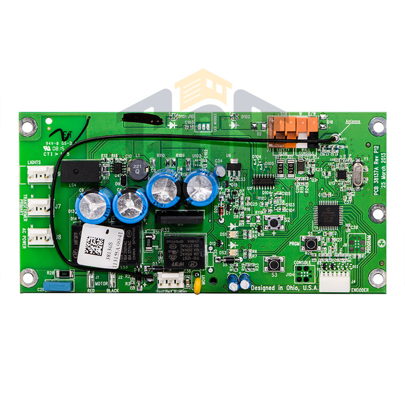 Genie Garage Door Opener Control Board