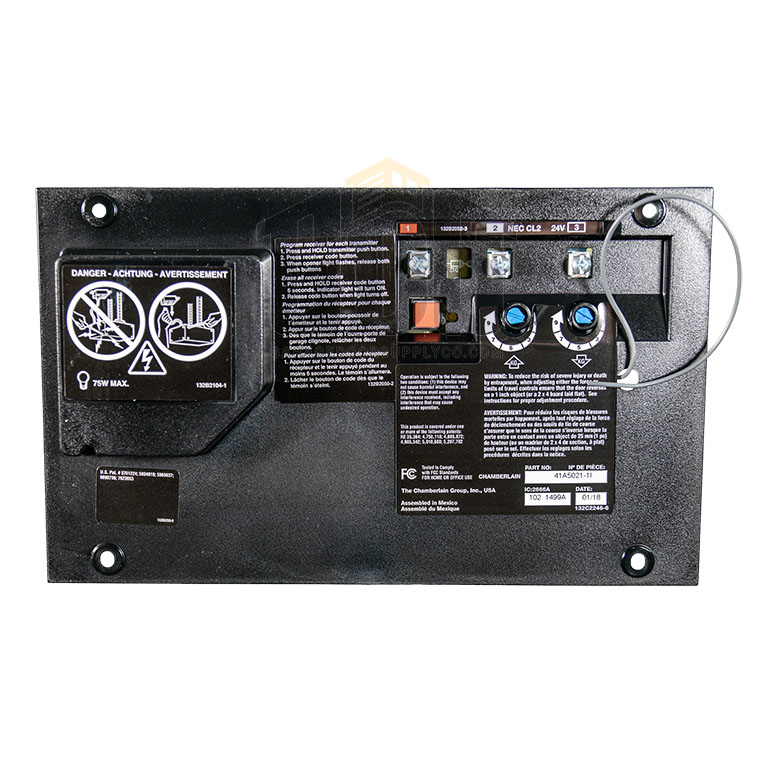 Liftmaster 41a5021 1i Logic Circuit Board Assembly