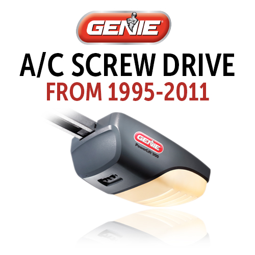 GENIE AC Screw Drive Models: