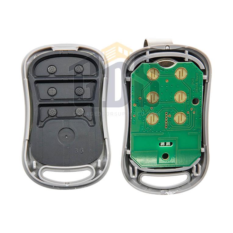Gictd 3 Mini Keychain 3 Button Intellicode Remote