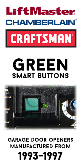 Billion Code - Green Smart Button Remotes