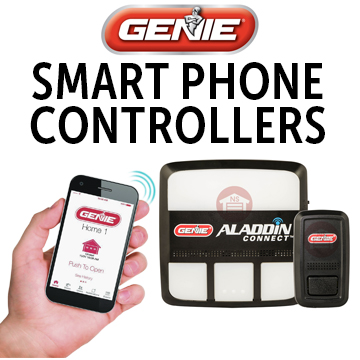 Genie Aladdin Connect Smart Phone System