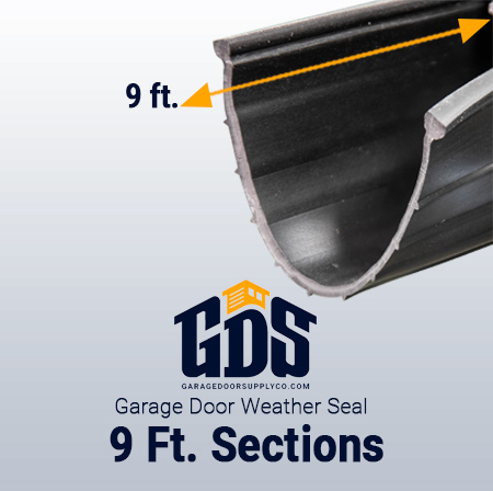 9' Garage Door Weather Seal