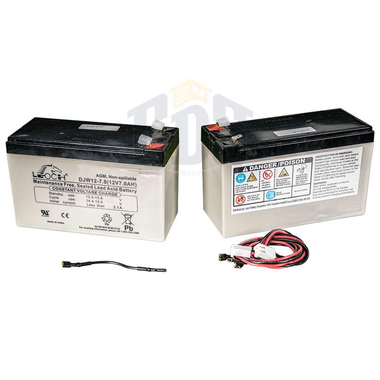 Liftmaster K74 30762 Gate Opener Battery Two Pack