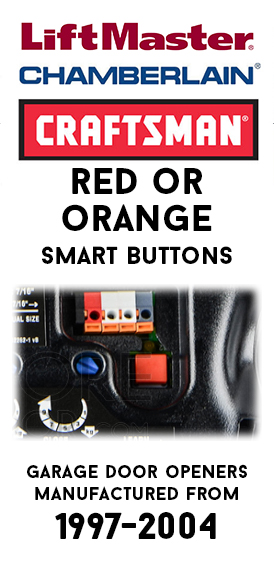Security+ Red or Orange Smart Button Remotes