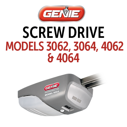 GENIE-PowerMax or Trilo-G Parts