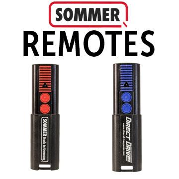 Sommer Garage Door Openers Remote Controls