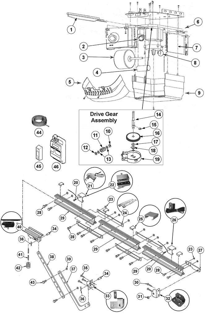 genie chain glide garage door opener parts guide lift master garage door opener parts diagram expensive garage door opener genie chain glide parts schematic