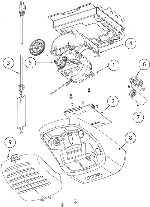 genie garage door opener parts diagram  u2013 dandk organizer