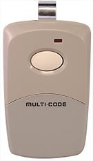 Multi-Code 3089 One Button Remote 300 MHz (Part # 308911)