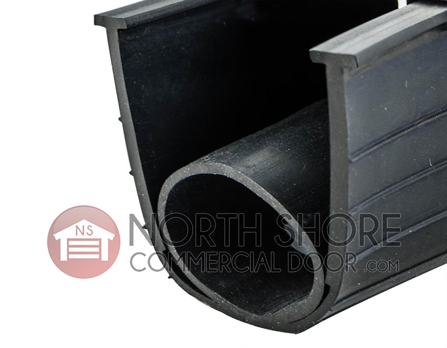 Ultra Rubber Garage Door Bottom T-End Weather Seal 9-ft.