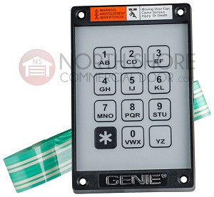 20235R KEP-1 Replacement Keypad With Ribbon Only