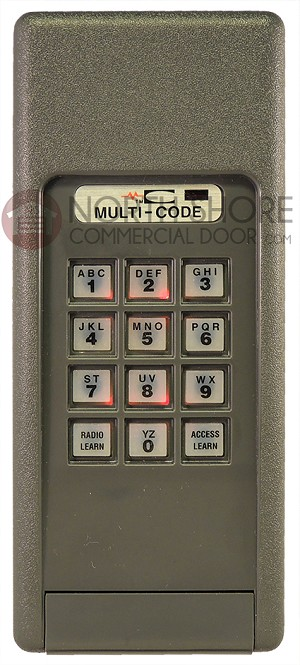 MC 4200-01 Multi-Code Wireless Keypad 300MHz