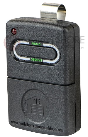 North Shore Commercial NSCD-390CV1 Compatible Remote