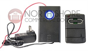 North Shore Commercial Door NSCD-RX433RC1 Single Channel Rolling Code Radio Receiver