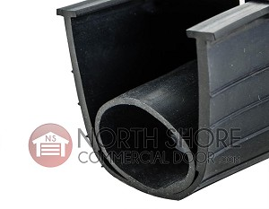 Ultra Rubber Garage Door Bottom T-End Weather Seal 16-ft.